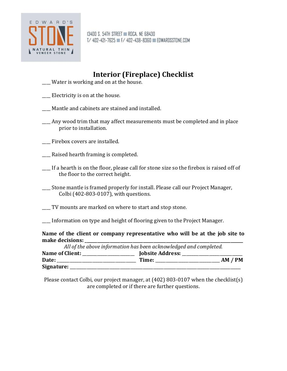 Document preview Builder Checklist 2014.pdf - page 3/3