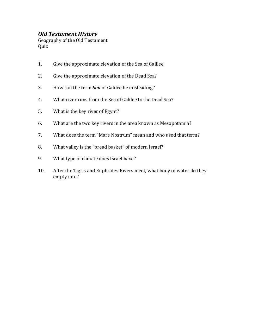 Document preview Lesson 1 Quiz - Geography.pdf - page 1/1