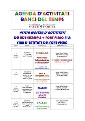 55 agenda setmanal inici 8 de maig 2014