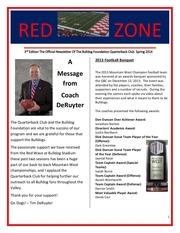 red zone spring 2014