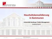 andreas burth haushaltskonsolidierung in kommunen