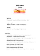 PDF Document has o dumel wyniki
