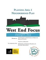 west end focus planning area 1 neighborhood plan