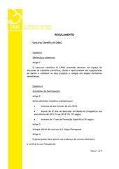 regulamento concurso cient fico iii cniac