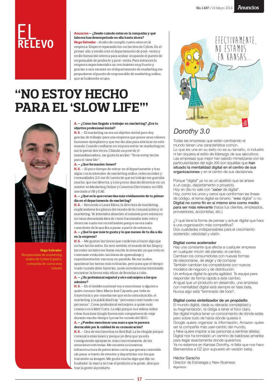Document preview Revista Anuncios - nº1487  - Entrevista Hugo Salvador.pdf - page 1/1