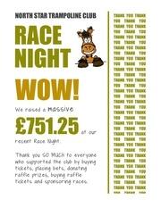 PDF Document north star race night money raised