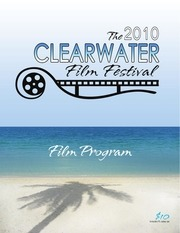 the 2010 clearwater film festival official program
