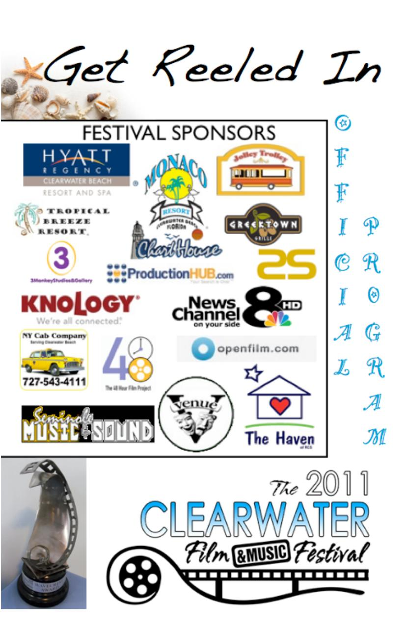 The 2011 Clearwater Film & Music Festival Official Program.pdf - page 1/20