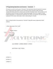 PDF Document constants 1