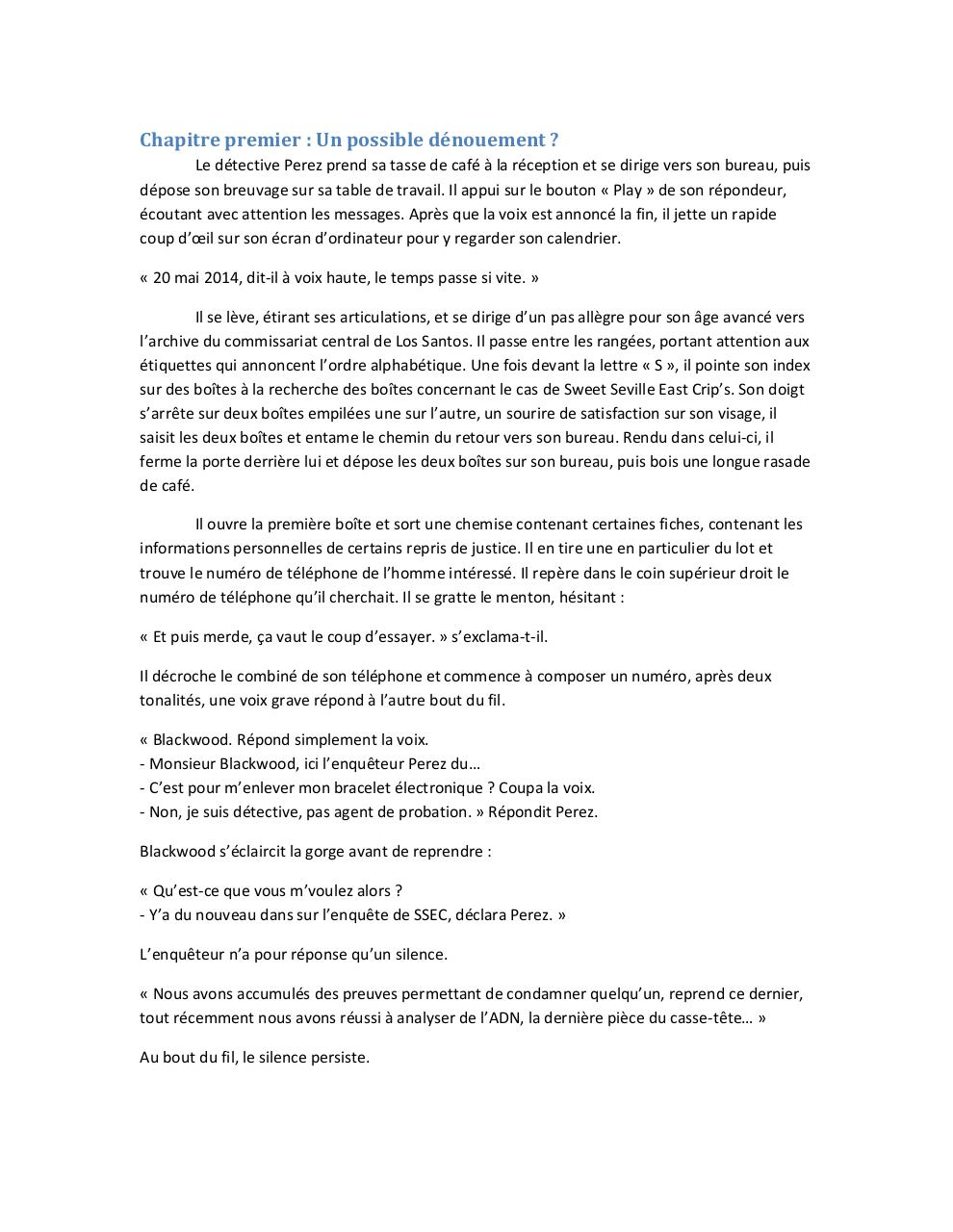 Document preview Chapitre premier.pdf - page 1/5