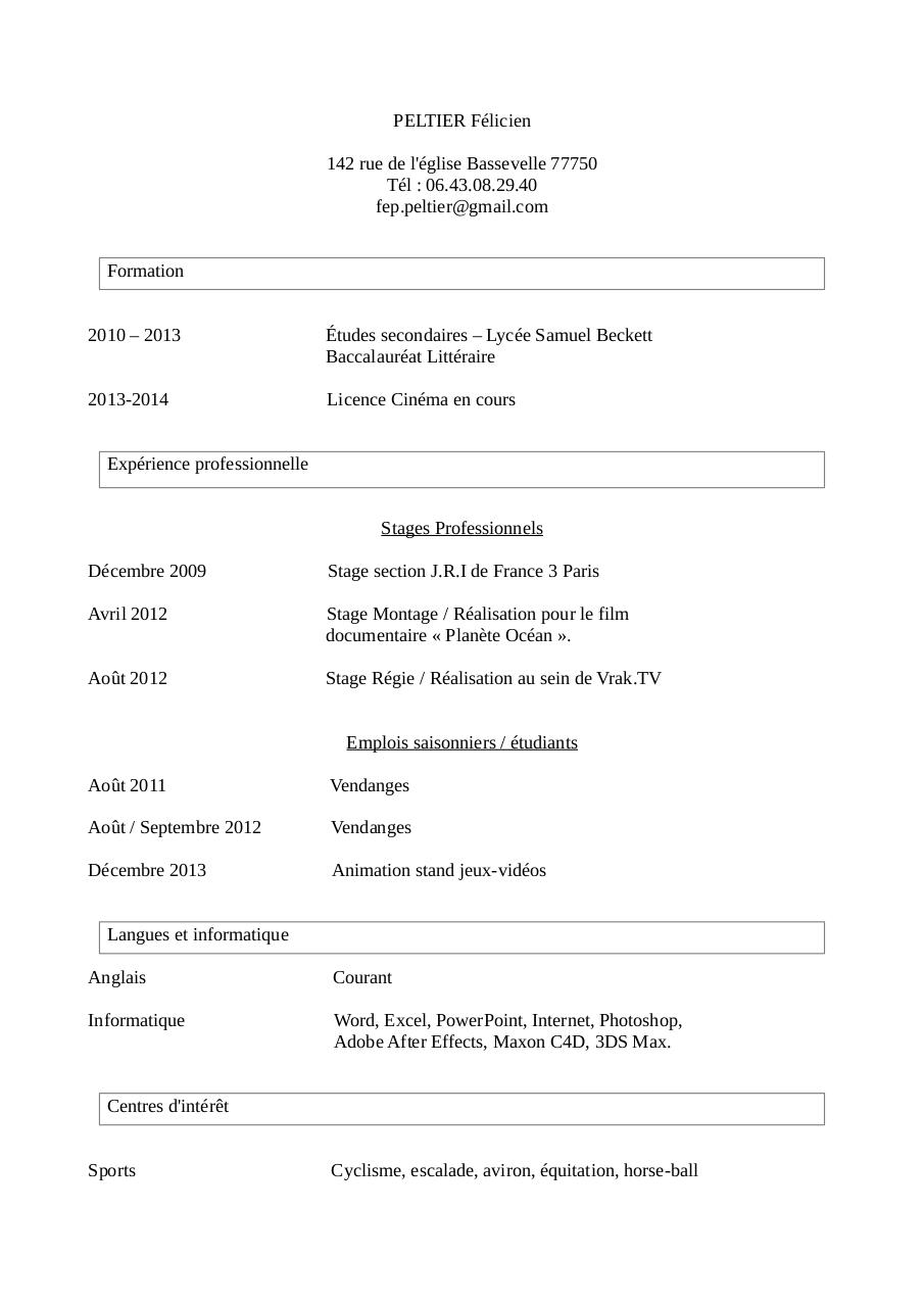 Document preview CV.pdf - page 1/1
