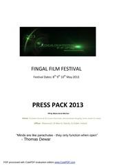 press pack 2013