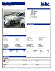 benz cond report