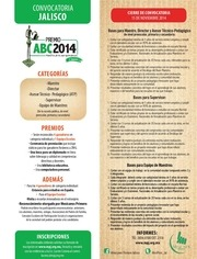 PDF Document convocatoria jalisco