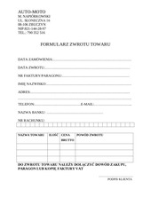 PDF Document formularz