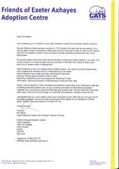PDF Document letter pamper evening