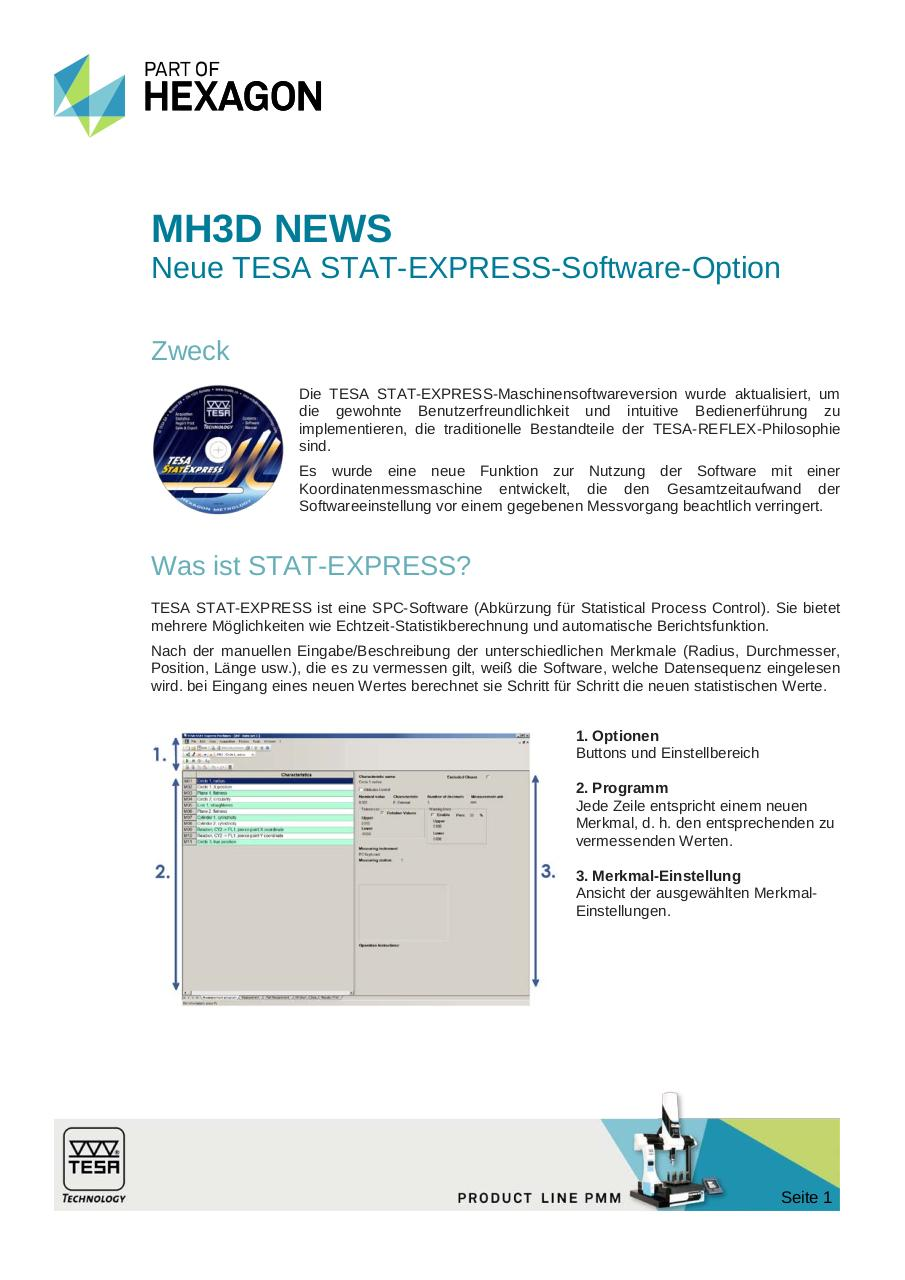 MH3D News, 16.06.14, STAT-EXPRESS MACHINE for TESA CMMs_DE.pdf - page 1/6