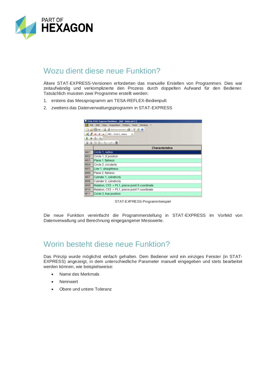 MH3D News, 16.06.14, STAT-EXPRESS MACHINE for TESA CMMs_DE.pdf - page 3/6