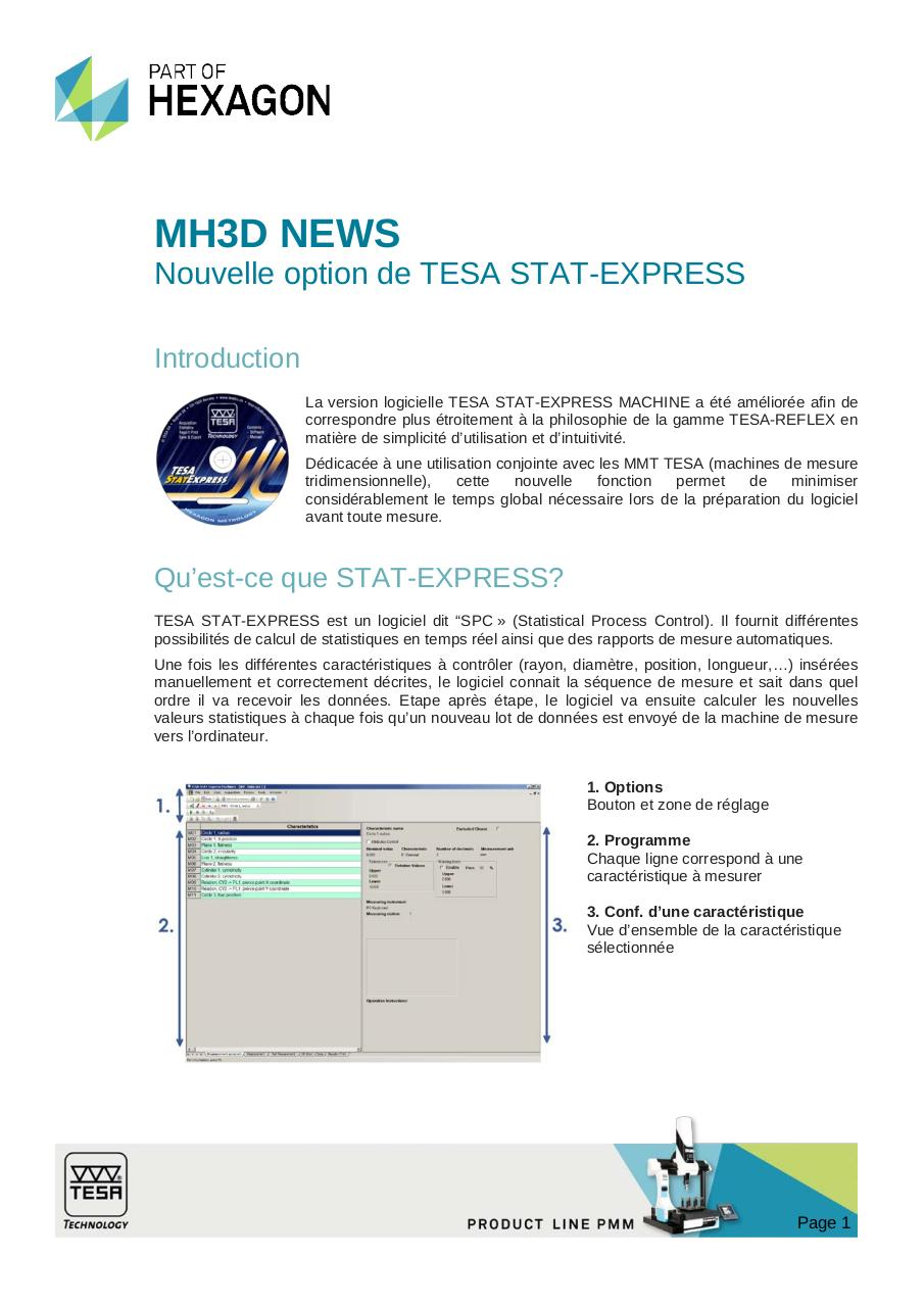 MH3D News, 16.06.14, STAT-EXPRESS MACHINE for TESA CMMs, FR.pdf - page 1/6