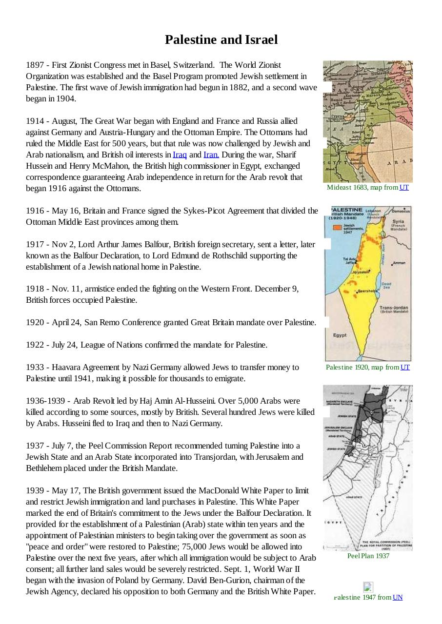 Palestine and Israel.pdf - page 1/6