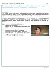 PDF Document safeguarding children level 1 workbook v3 app version 1