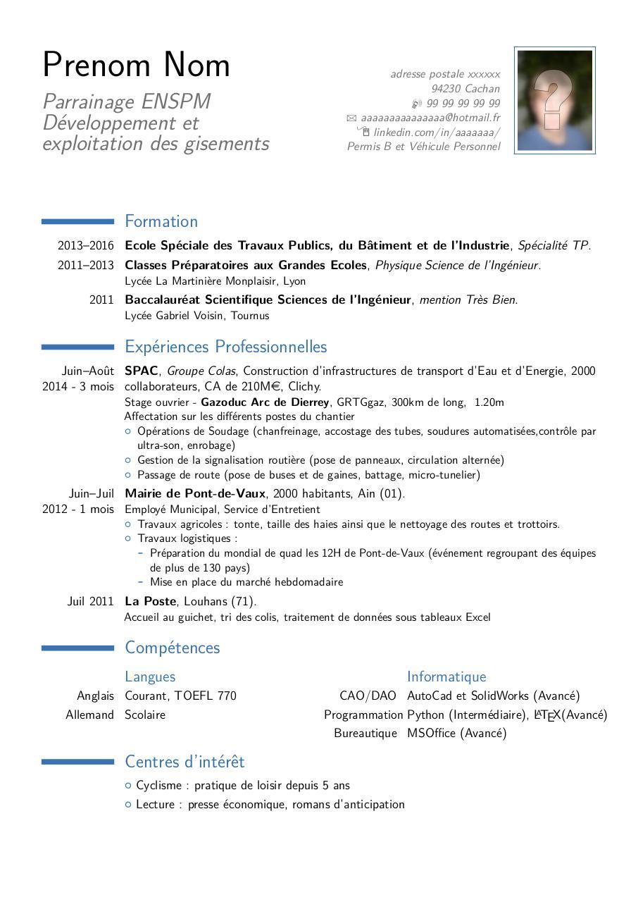 pdf document prenom nom  u2013 parrainage enspm d u00e9veloppement et exploitation des gisements by prenom