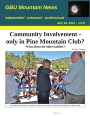gbu mountain news lxvi july 18 2014