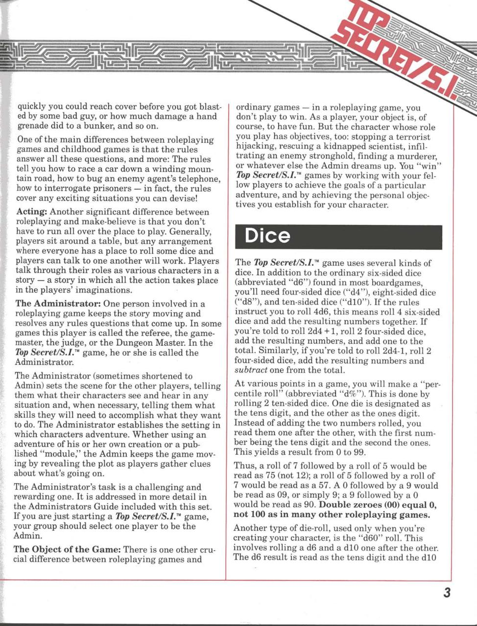 TSR Top Secret S.I. RPG - Players Guide (Boxed Set).pdf - page 4/98