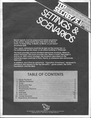 tsr top secret s i rpg settings scenarios boxed set