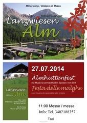 almfest lanzwiesenalm 2014 neu