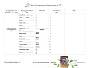 printable card design form
