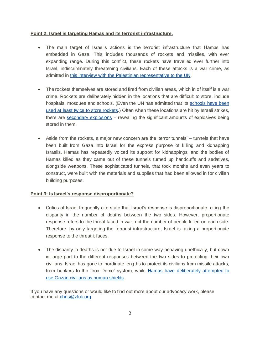 Messaging and information for Operation Protective Edge.pdf - page 2/2