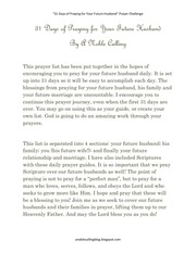 PDF Document 31 days of praying for your future husband