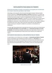 PDF Document restaurantes para bodas en tenerife