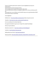 PDF Document van 3d blu ray naar 3d mkv half sbs met ondertiteling