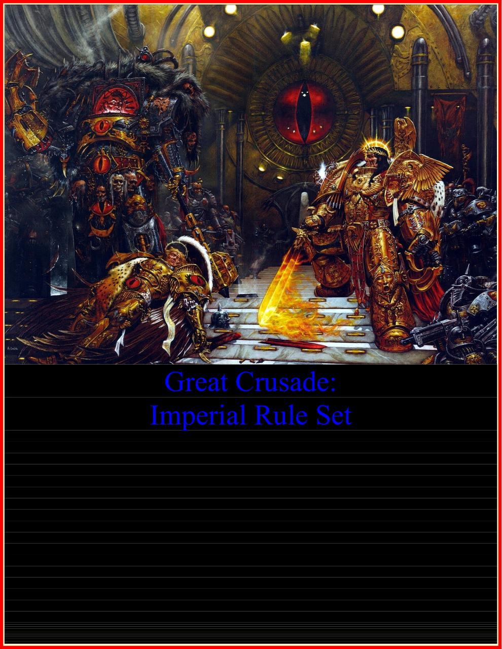 Great Crusade Imperial Rule set 6 3 - PDF Archive
