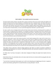 paint jamaica press release pdf