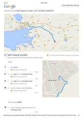 google maps english