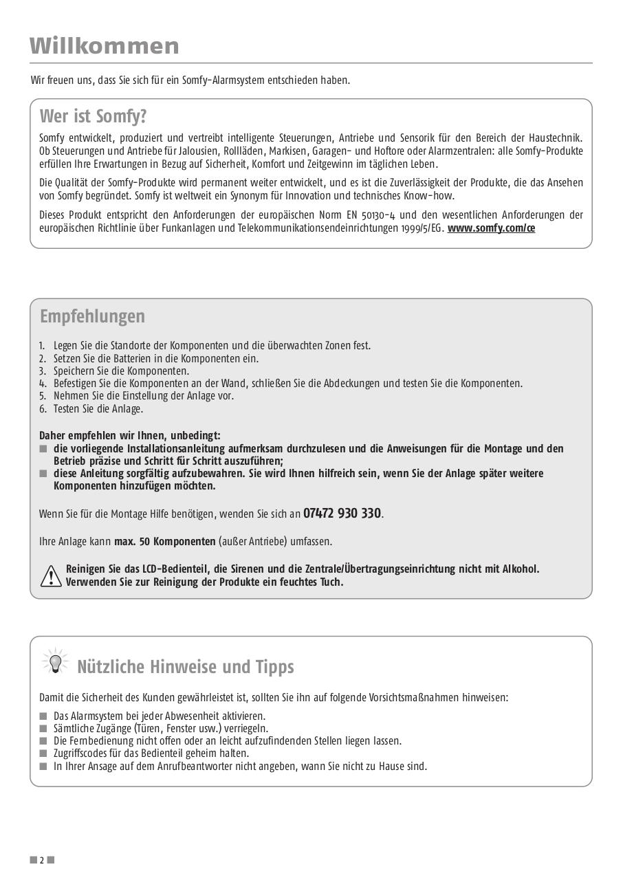 protexial_installationsanleitung_Smart_Home_Hannover.pdf - page 2/56