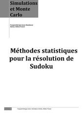 sudoku rapport sitbon hamdaoui fauquembergue
