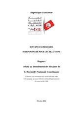 rapport de l isie sur le deroulement des election
