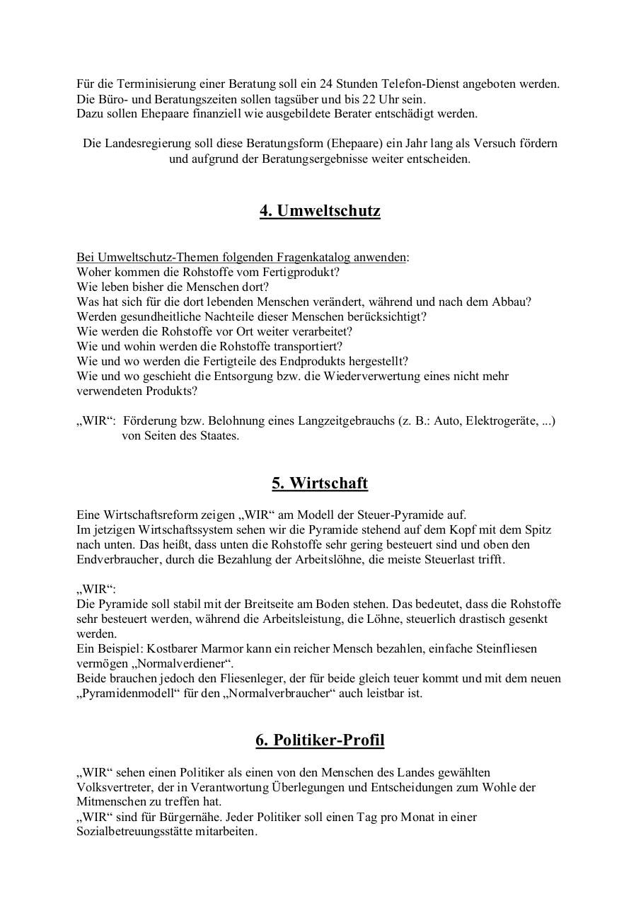 Document preview _WIR_ - Wahlprogramm 2014 vom 19. 8. 2014.pdf - page 4/4