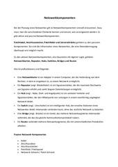 PDF Document netzwerkkomponentenserverarten