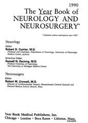 year book neur neurosurg 1990