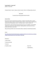 2014 09 23 odluka o suspenziji nevena kovacica