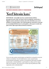 PDF Document telegraaf i 21 september 2014 geef bitcoin kans
