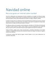 navidad online