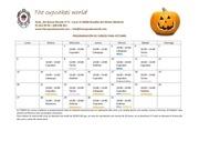 calendario cursos octubre