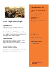 learnenglishintallaght 1