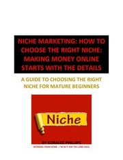 report niche marketing 1